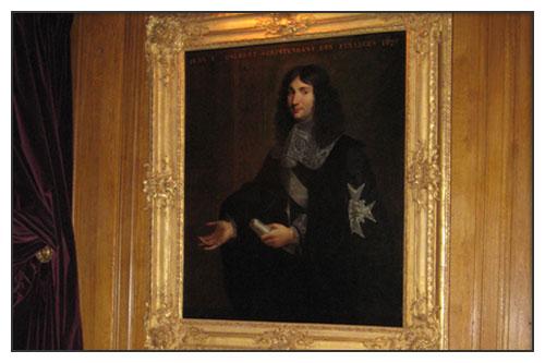 Portrait de Colbert - Ecole Française seconde moitié du XVIIème siècle